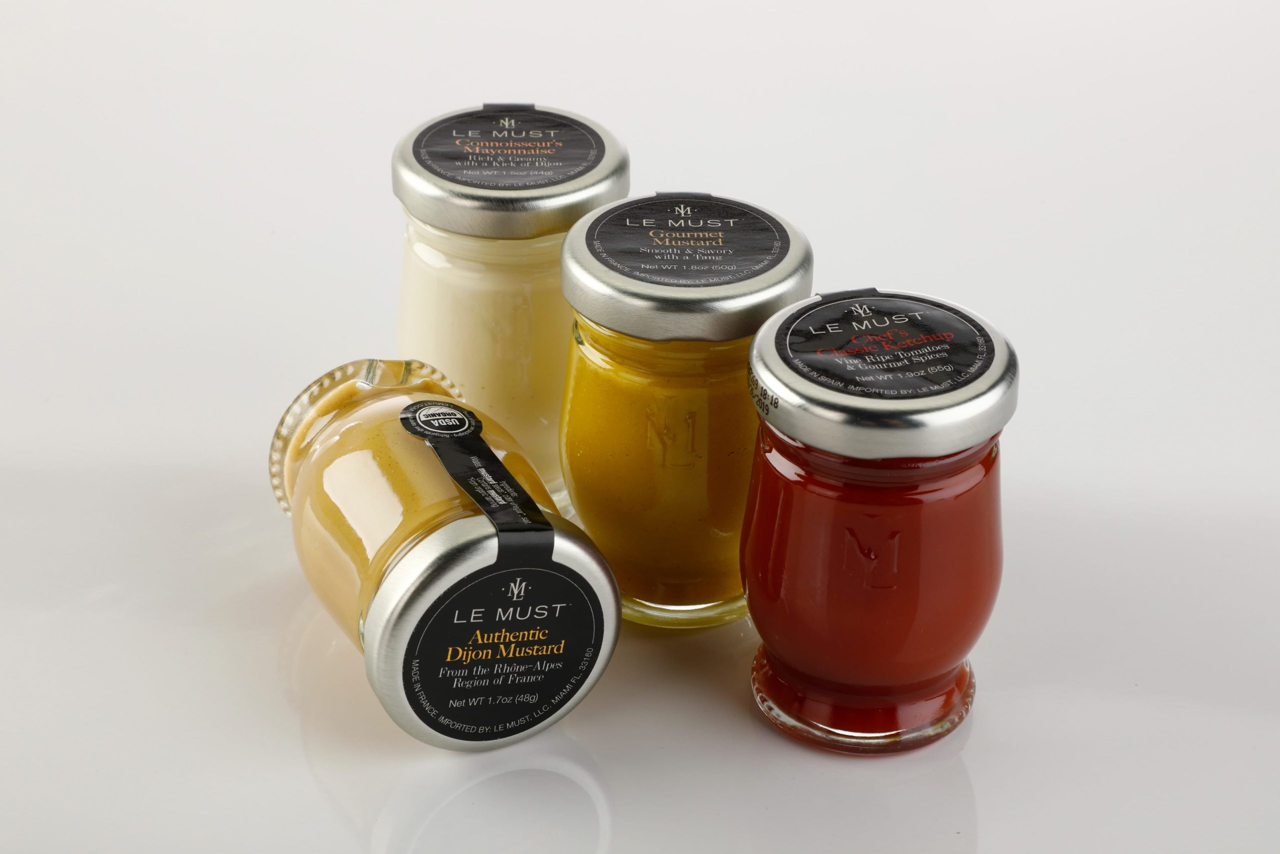 Le Must luxury sauces and condiments for room service