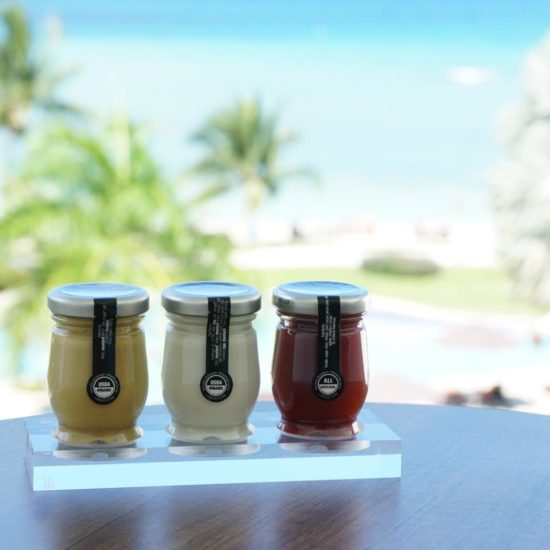 Le Must Condiments for in-room dining