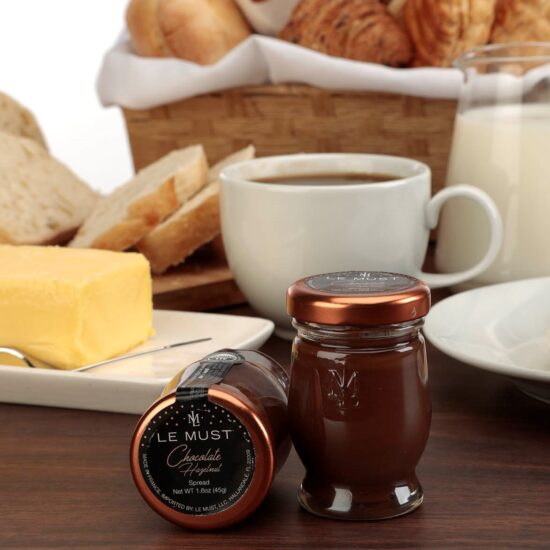 Le Must All Natural Single Serve Chocolate Hazelnut Spread Luxury In Room Dining Lifestyle