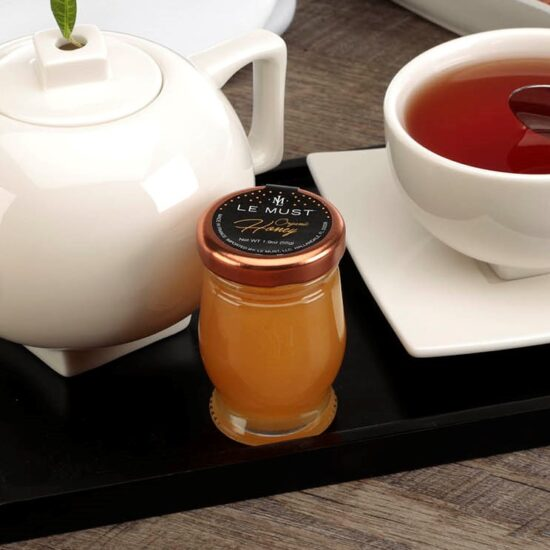 Le Must Organic Single Serve Honey Luxury In Room Dining Lifestyle with Tea Forte