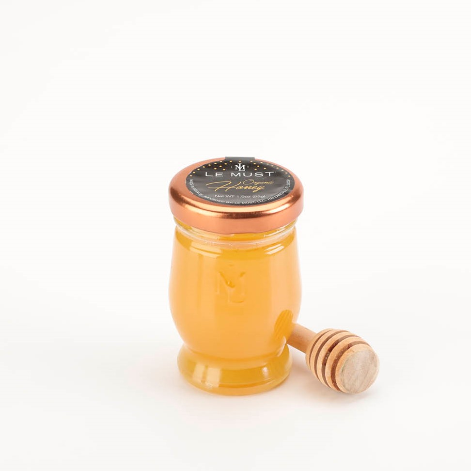Le Must Organic Single Serve Honey Luxury In Room Dining With Serving Stick