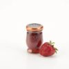 Le Must Organic Single Serve Strawberry Preserve Luxury In Room Dining with Fruit